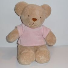 Doudou Ours Tex - Pull Rose