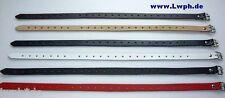 1 Lederriemen Braun 2,0 x 70,0 cm lang Fix-Riemen Befestigungsriemen + Schnalle