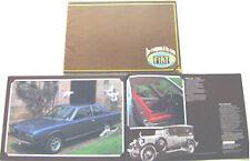 FIAT 126 127 128 124 132 130 1973 -74 ORIGINALE UK SALES BROCHURE