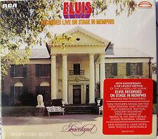 ELVIS PRESLEY CD x 2 Recorded Live In Stage In Memphis LEGACY UK SEALED + Promo