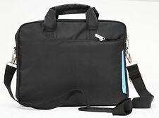 """Black laptop slim shoulder lightweight bag carry case  13"""" Apple Macbook"""
