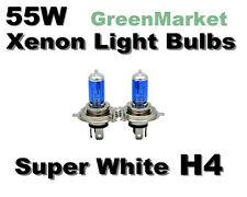 Honda 93-95 Civic Del Sol S/Si/VTEC High/Low Beam H4 Xenon-55w Super White Bulbs