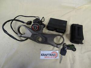 Kawasaki ZX10R ZXT00 D 06 07 Schlosssatz Gabelbrücke CDI Steuergerät 003