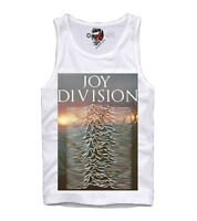 E1SYNDICATE TANK TOP JOY DIVISION UNKNOWN PLEASURES IAN CURTIS LP 	1618t