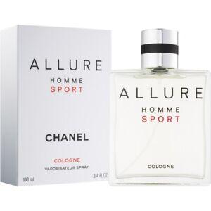 CHANEL ALLURE HOMME SPORT Cologne 100 ml. Vaporisateur