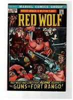 Red Wolf #1 VF NM 1972 Marvel Comics Lobo