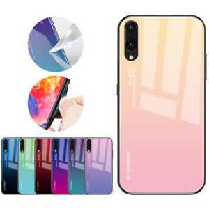 Gradient Phone Case For Huawei Mate 20 30 P20 P30 Pro Lite Nova 4e 5 Pro Cover