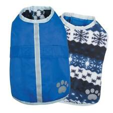 Noreaster Warm Reversible Water-Resistant Reflective Dog Jacket Rain Coat