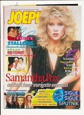 JOEPIE 650 (31/8/86) ROD STEWART SIGUE SIGUE SPUTNIK PRINCE MATIA BAZAR LOWE