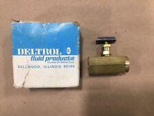 Deltrol N20B PNEU-TROL Brass Fluid Control Valve 1/4 #025D10