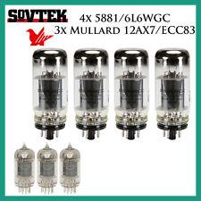 New 4x Sovtek 5881/6L6WGC + 3x Mullard 12AX7/ECC83