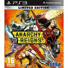 Anarchy Reigns Limited Edition For PAL PS3 (New & Sealed)