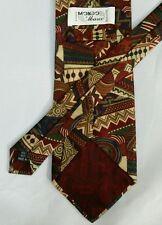Mondo di Marco Mens Designer Necktie Classic Silk Tie Crazy Neutral Soft Colors