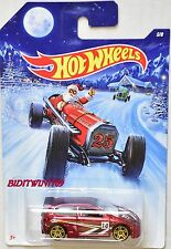 HOT WHEELS 2014 HOLIDAY HOT RODS - SANTA HONDA CIVIC #5/8