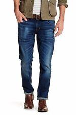 NWT HUDSON Blake in Naples Slim Straight Whiskered Stretch Jeans 32 x 33 ½ $198