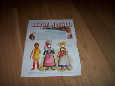 Betsy Writes from Switzerland 1969 Vintage Betsy McCall Magazine Paper Doll
