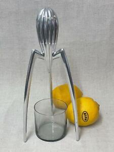 Alessi - Philippe Starck Juicy Salif Citrus Squeezer Reamer Juicer Space Age MCM
