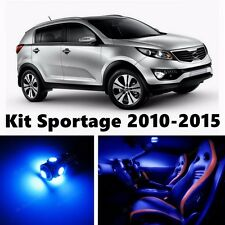 10pcs LED Blue  Light Interior Package Kit for KIA Sportage 2010-2016