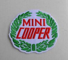 Patch,Vintage,Mini Cooper,England,Aufnäher,Aufbügler,Badge,Racing
