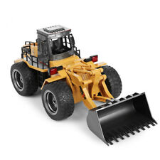 RC Car 6CH 1/18 Trucks Metal Bulldozer Charging RTR Cars For Kids Toys Gifts