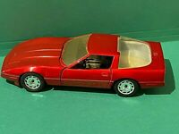 1987 Majorette Die Cast 1:24 Red Chevrolet Corvette
