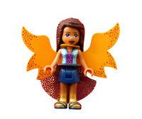 Lego Friends Andrea mit Umhang Flügel Minifigur (frnd271) Neu Figur Legofigur