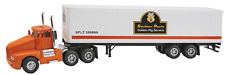 "KENWORTH  ORANGE  SEMI   SOUTHERN PACIFIC TRAILER   ""1:87  #15005 SP PIG"
