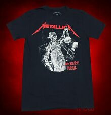 New Metallica Justice For All 1988 Red Retro Men's Vintage Classic T-Shirt