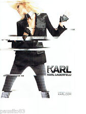 PUBLICITE ADVERTISING 066  2012  Karl Lagerfeld  haute couture