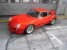 Porsche 911 Carrera RSR 2.8 Breitbau Orange 1974 Resin GT Spirit neuf new 1:18