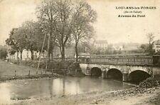 LOULANS LES FORGES Avenue Pont Ecrit soldat 4 è Régiment Chasseur cheval au 121