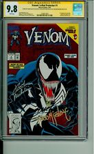 Venom Lethal Protector 1 CGC 9.8 SS Bagley McFarlane Michelinie @Guardian_Comics