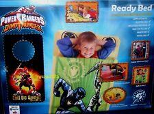 Power Rangers Dino Thunder Ready Bed Sleeping Travel Bag Inflatable Mattress New
