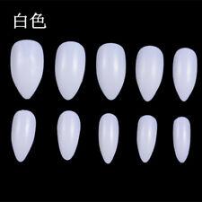 600Pcs/Bag Nail Art Natural or White French Fake Nail Full Nail Patch