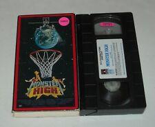 VHS in SLEEVE - MONSTER HIGH w DEAN IANDOLI DIANA FRANK HORROR COMEDY