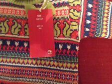 Knot so bad patterned jumper 6m new