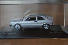 1:43 VW SCIROCCO ARGENTO SILVER TS Minichamps 3 5 6 1 i GL gli GTI Black Nero