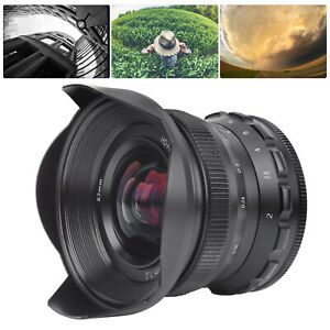 12mm F2 FX Mount Wide Angle Large Apertur Fixed Focus Lens for Fuji High Quality