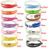 Women Female Multi-color Belt Small Candy Color Thin Leather Belts Utility