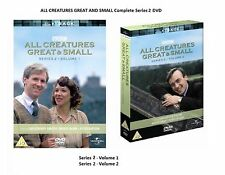 ALL CREATURES GREAT AND SMALL Complete Series Season 2 DVD James Herriot UK R2