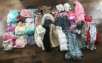 55 Pieces Of Girls Clothing Size 10-12 Includes Justice, Mudd Ect.