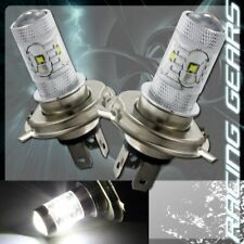 2x For Suzuki Toyota H4 White 6 LED 30w Projector Low Beam Fog Lamp Lights Bulbs