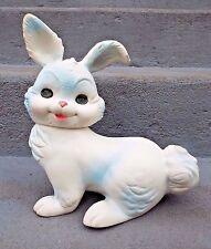"Vintage 1961 Arrow Edward Mobley Rubber BUNNY RABBIT Squeaker Squeak Toy 11"""