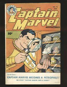 Captain Marvel Adventures # 73 VG/Fine Cond.
