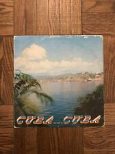 """Cuban LP Compilation """"CUBA QUE LINDA ES"""" Joseito Fernandez, Orquesta Egrem"""