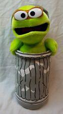 "Sesame Street Oscar The Grouch 13"" Plush Stuffed Animal Toy"