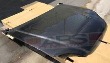 Vented Style Carbon Fiber Hood for 1999 2000 Honda Civic Coupe Sedan Hatch