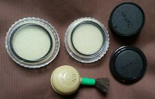 Assorted Camera Pieces-2×Canon Lens Covers,2×52mm Lens Screens & Blower Brush