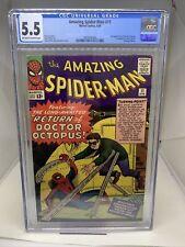 Marvel Comics Amazing Spider-Man #11 CGC 5.5 1964
