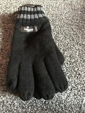 Marks And Spencer Man Thermal Knitted Gloves S-m Black